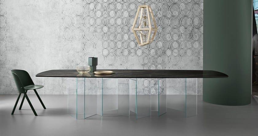 Tavoli Da Pranzo Design : Tavolo da pranzo rettangolare metropolis tavolo tonelli design