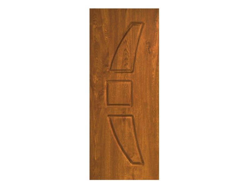 Door panel for outdoor use METROPOLITAN ALICANTE by Metalnova