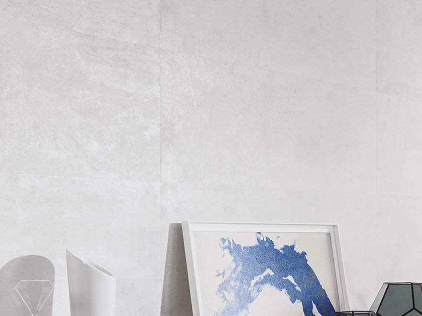 Wall/floor tiles with metal effect METROPOLITAN CALIZA by Venis
