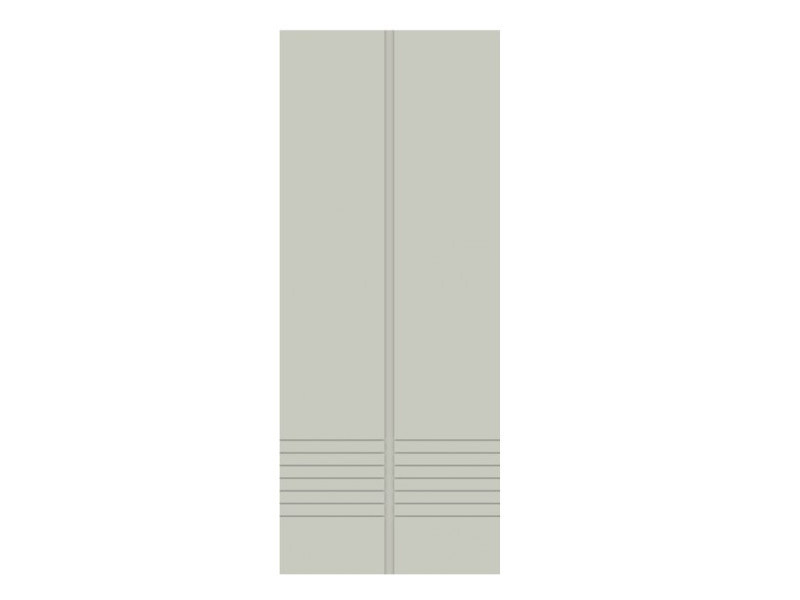 Door panel for outdoor use METROPOLITAN COLONIA by Metalnova