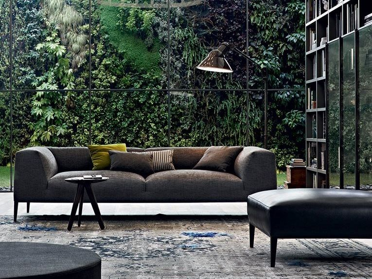 Fabric Sofa With Removable Cover Metropolitan By Poliform