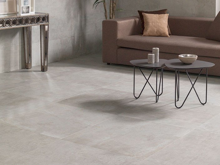 Wall/floor tiles with metal effect METROPOLITAN NATURE ANTRACITA by Venis