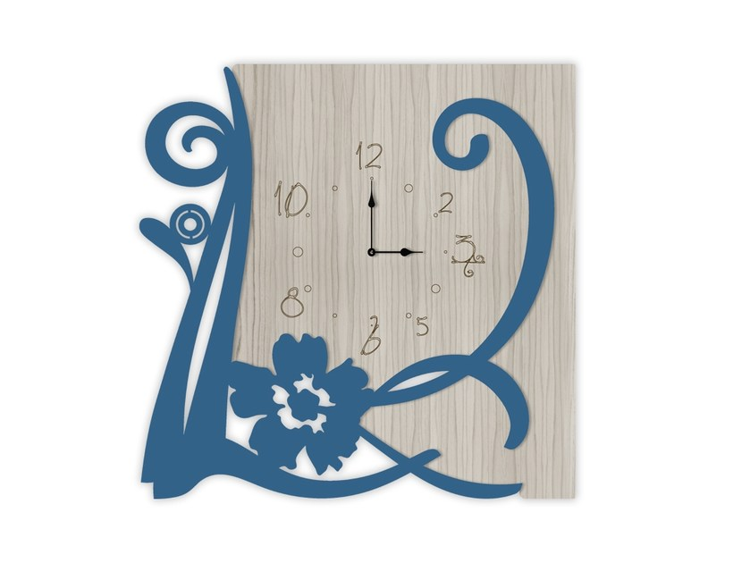 Wall-mounted MDF clock MG-194 | Clock by LAS