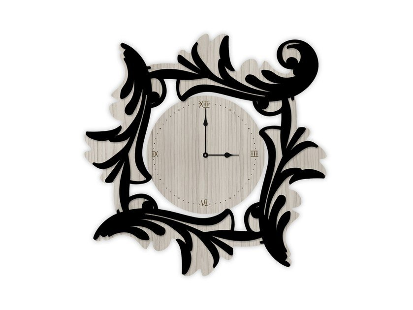 Wall-mounted MDF clock MG-246OR | Clock by LAS
