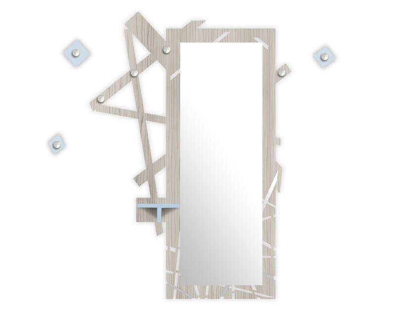 Wall-mounted MDF hallway unit MG-293 by LAS