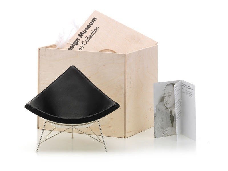 Miniatura in pelle MINIATURES COCONUT CHAIR by Vitra