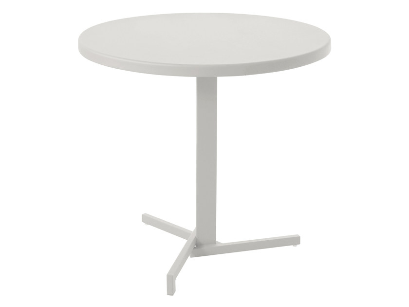 Folding round HPL table MIA by emu