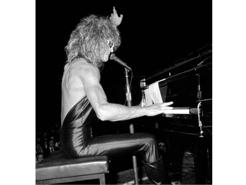 Stampa fotografica MICHEL POLNAREFF IN CONCERTO NEL1973 by Artphotolimited