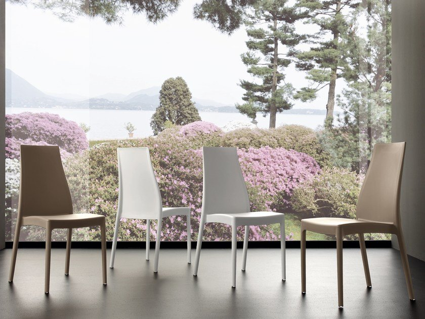 Stackable polypropylene chair MICHELE by IDEAS Group