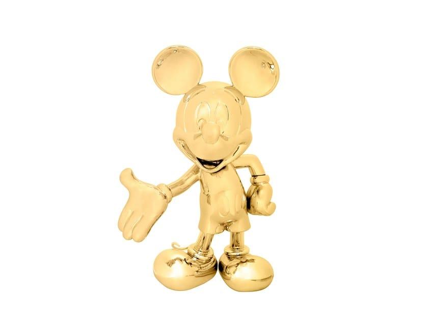 Resin sculpture MICKEY LIFE SIZE CHROME by LEBLON DELIENNE