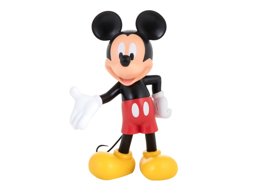 Contemporary style synthetic material sculpture MICKEY LIFE SIZE REGULAR by LEBLON DELIENNE