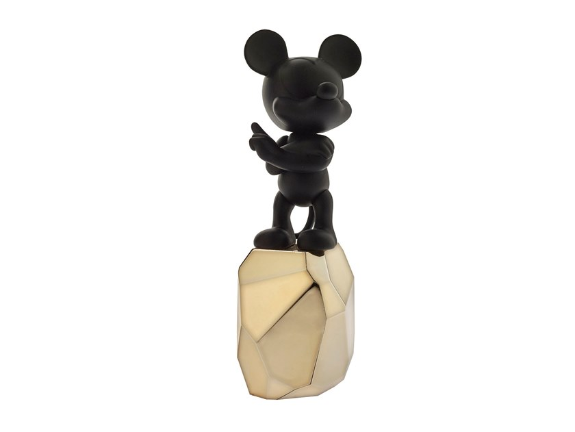 Resin sculpture MICKEY ROCK SMALL by LEBLON DELIENNE