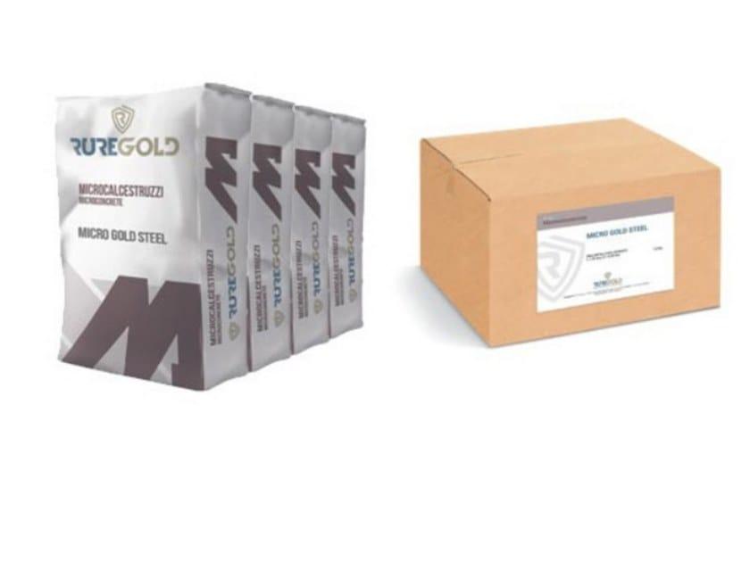 Microcalcestruzzo MICRO GOLD FCC by RUREGOLD