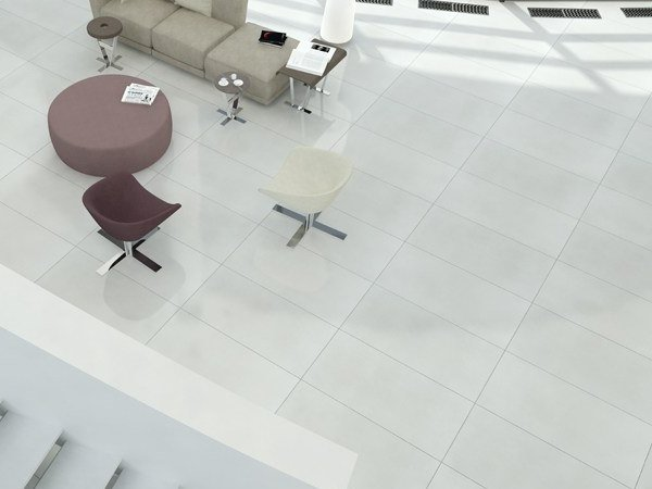 Indoor/outdoor porcelain stoneware wall/floor tiles MICRON 2.0 W by Ceramica d'Imola
