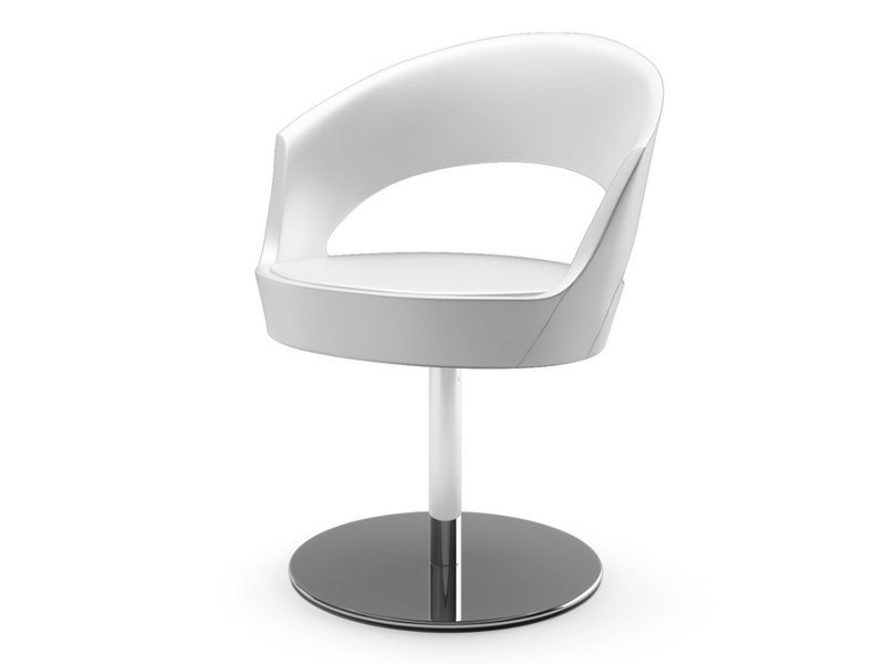 Fabric easy chair with armrests MIDA   Easy chair with armrests by Cizeta L'Abbate