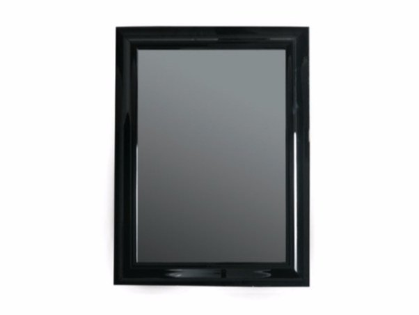 Wall-mounted framed bathroom mirror MIDAS 70 x 90 by GALASSIA