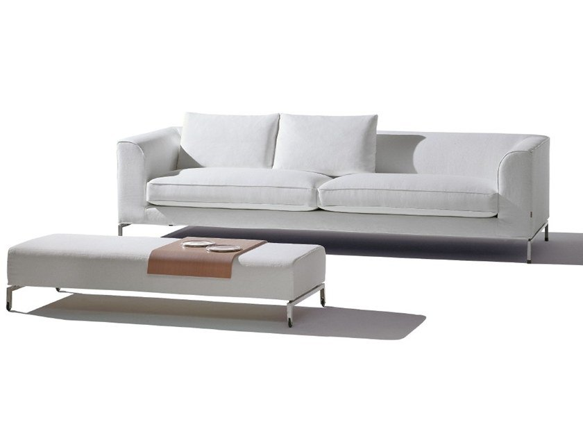 Fabric sofa with removable cover MIDI | Sofa by Felicerossi