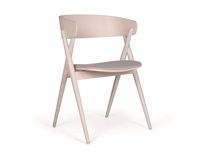 Wooden chair MIKADO EST by Fenabel