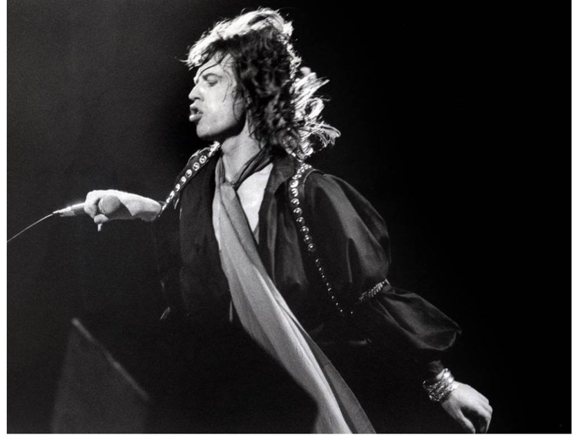 Stampa fotografica MIKE JAGGER E THE ROLLING STONES by Artphotolimited