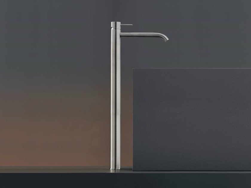 Deck mounted mixer for countertop basin MIL 111 by Ceadesign