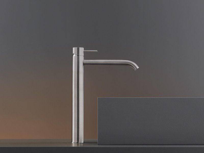 Deck mounted mixer for countertop basin MIL 17 by Ceadesign