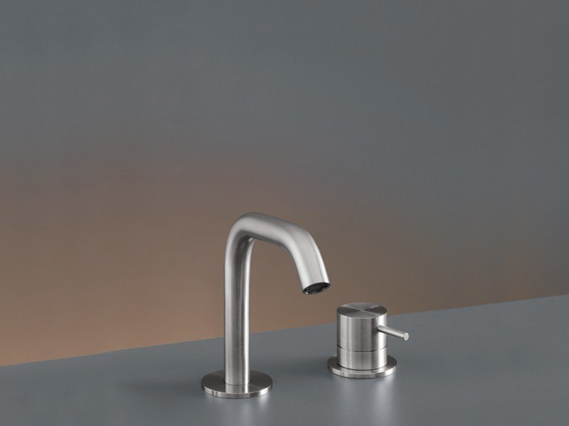 Two-hole mixer with swivelling spout MIL 74 by Ceadesign
