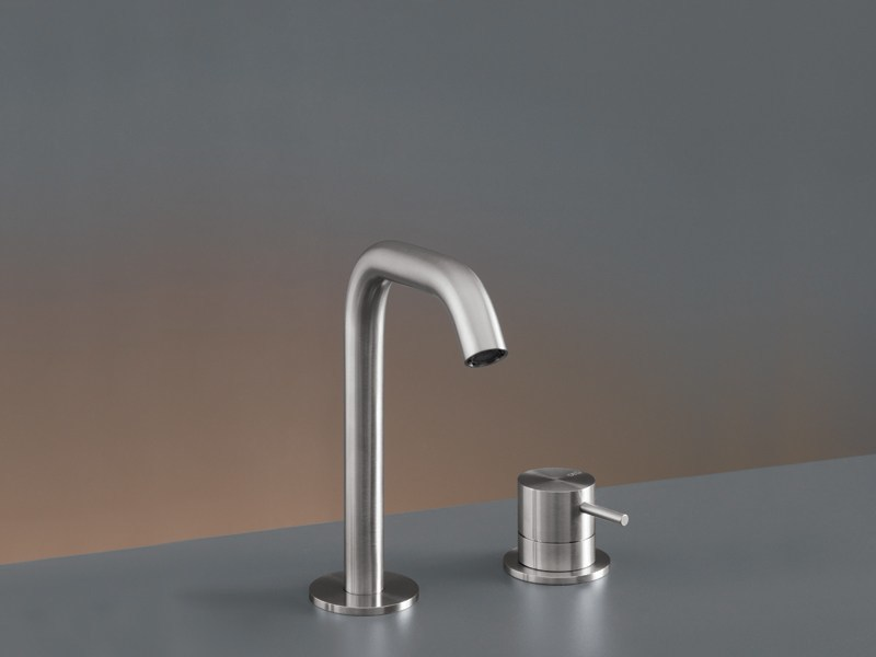 Two-hole mixer with swivelling spout MIL 75 by Ceadesign