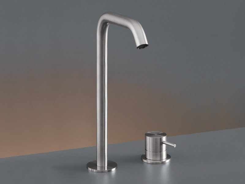 Two-hole mixer with swivelling spout MIL 76 by Ceadesign