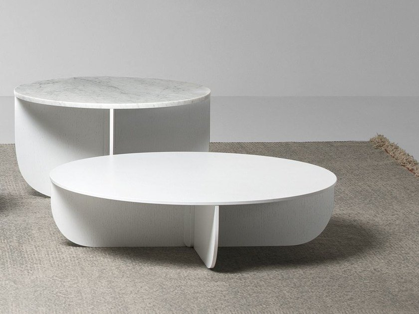 Marble coffee table for living room MIL | Marble coffee table by La Cividina