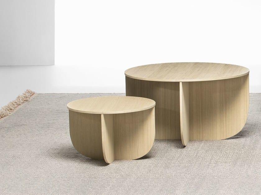 Tavolini In Legno Da Salotto : Mil tavolino in legno collezione mil by la cividina