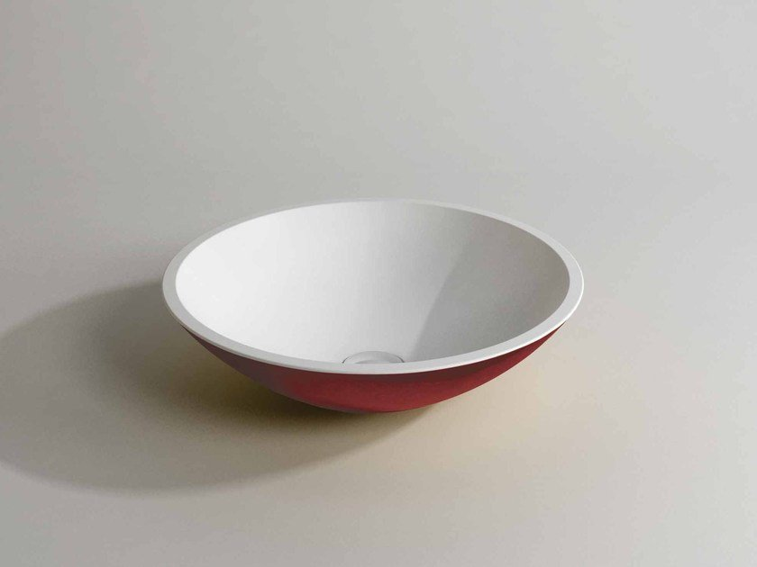 Countertop round washbasin MILA DOUBLE by Flora Style