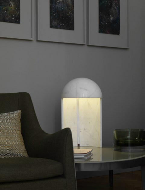 Table lamp MILANO 2015 By FontanaArte design Carlo Colombo