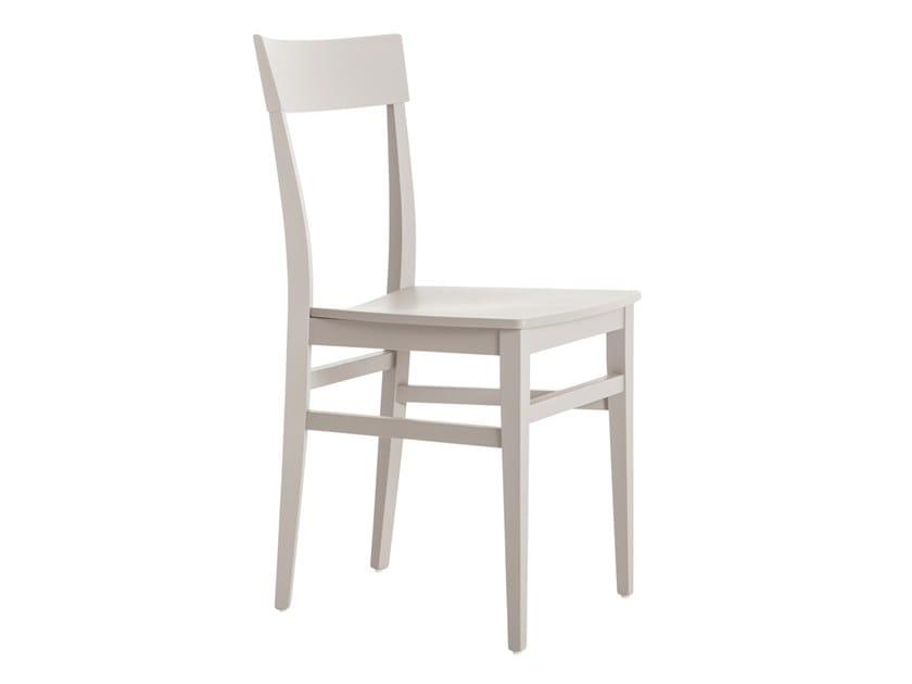 Beech chair MILANO 47C.u2 by Palma