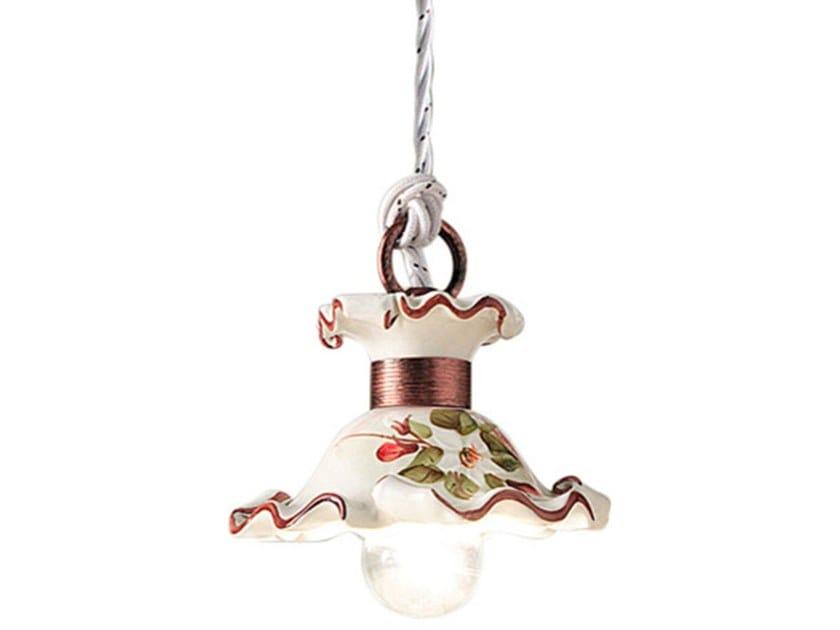 Ceramic pendant lamp MILANO | Ceramic pendant lamp by FERROLUCE