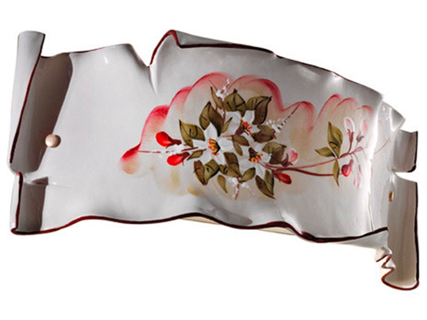 Ceramic wall light MILANO   Ceramic wall light by FERROLUCE