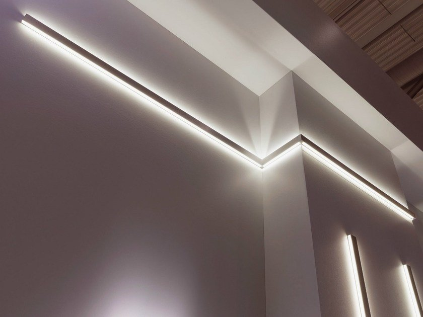 Linear lighting profile MILLELUMEN ARCHITECTURE | Linear lighting profile by millelumen