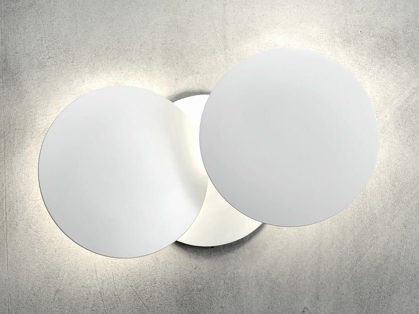 Applique a LED in alluminio MILLELUMEN CIRCLES | Applique a LED by millelumen