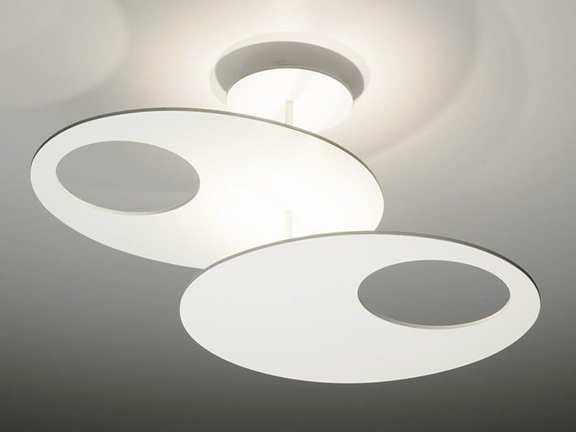 LED aluminium pendant lamp MILLELUMEN HOVER   LED pendant lamp by millelumen