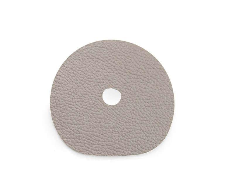 Leather drink coaster MILLESTONES | Leather drink coaster by Namuos