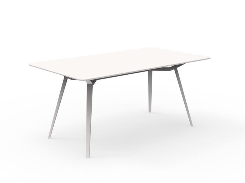 Rectangular garden table MILO | Rectangular table by Talenti