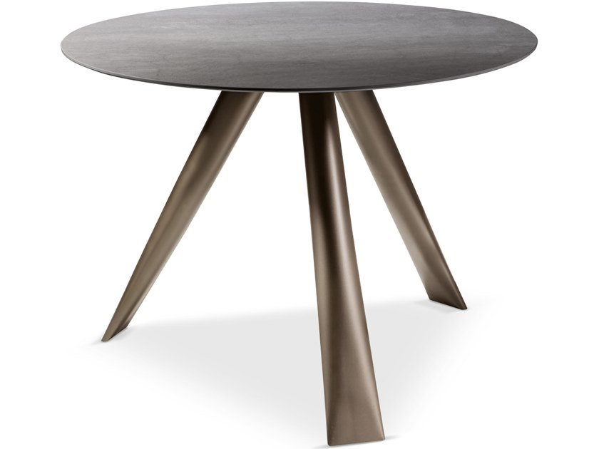 Round marble table MILOS | Round table by Cantori