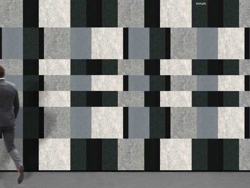 Decorative acoustic panel MIMARI by Slalom