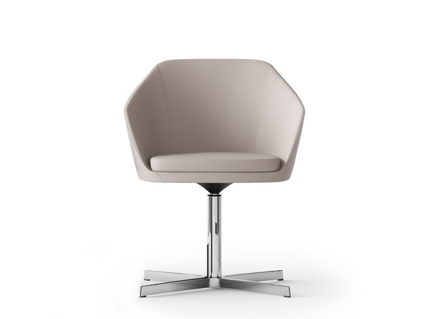 Swivel chair with 4-spoke base MIMÌ | Swivel chair by Arte & D