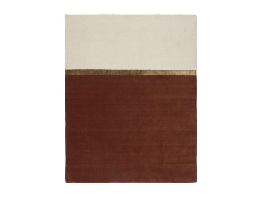tapete feito à mão personalizado mind the gap coleção metroquadro by