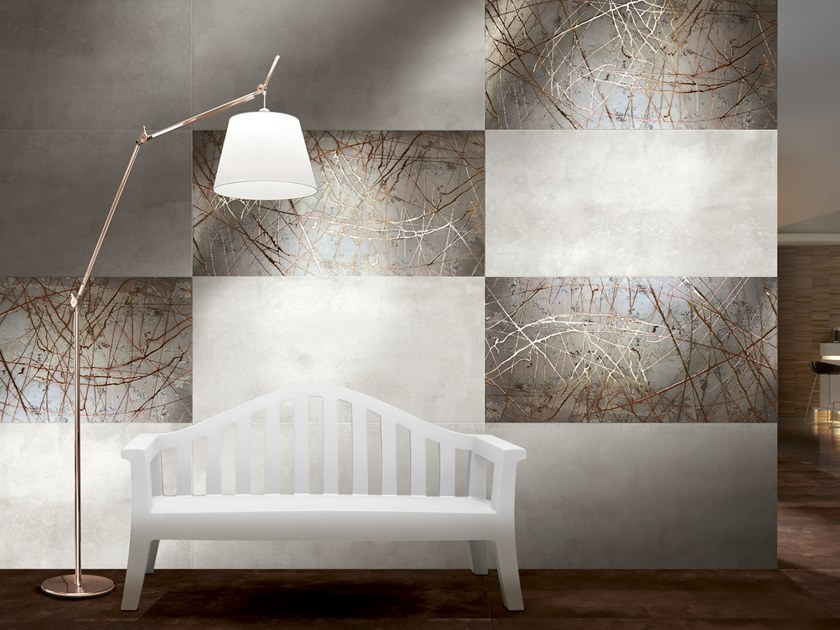 Porcelain stoneware wall/floor tiles MINERAL BRIGHT by CERAMICHE BRENNERO