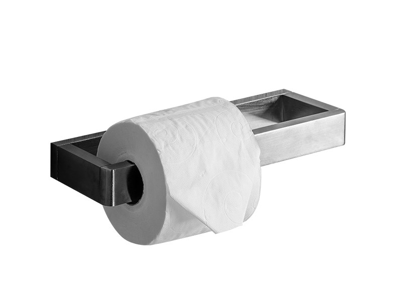 Double toilet roll holder MINERAL | Double toilet roll holder by Vallvé