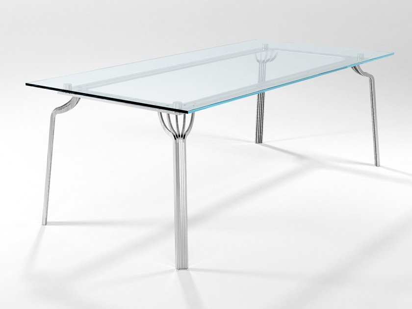 Rectangular crystal dining table MING | Table by Barel