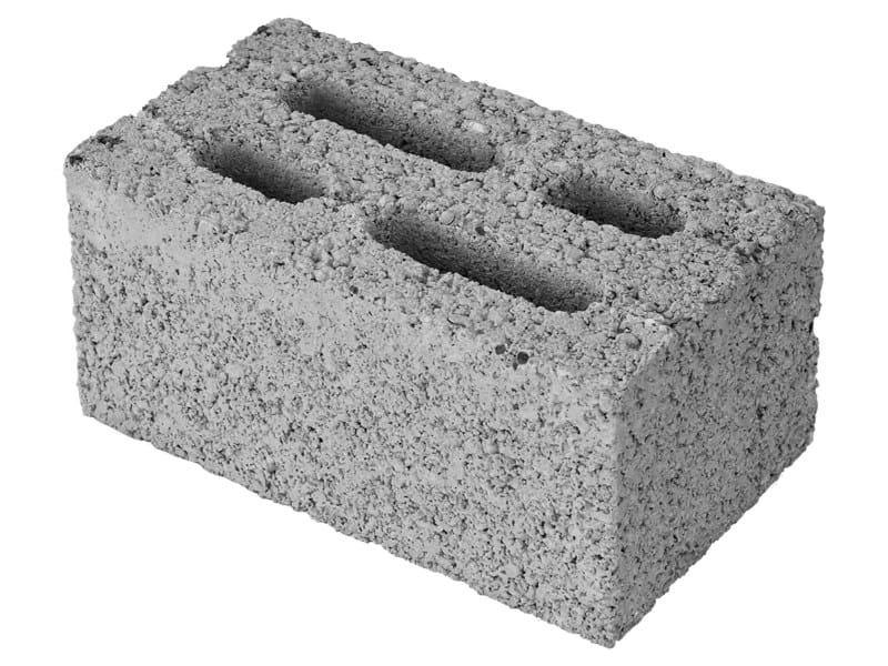 Loadbearing concrete block MINI 12 by M.v.b.
