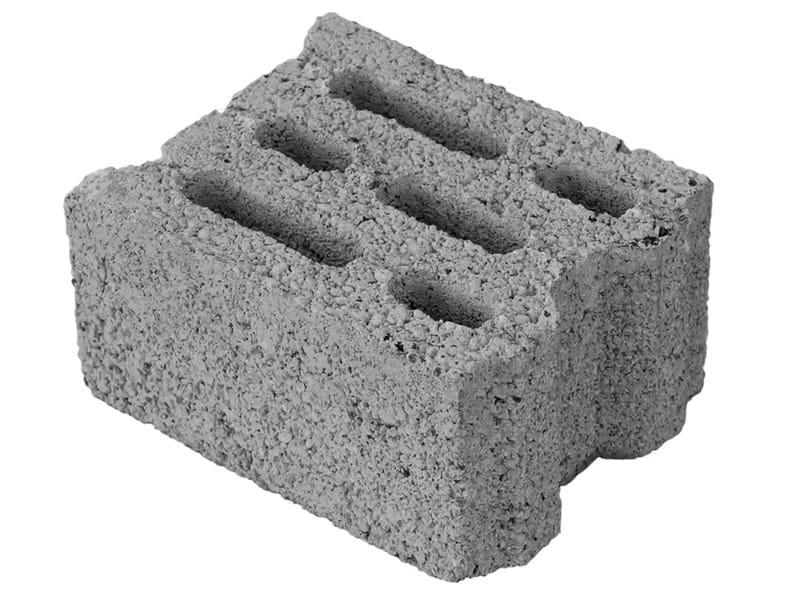 Loadbearing concrete block MINI 20 by M.v.b.