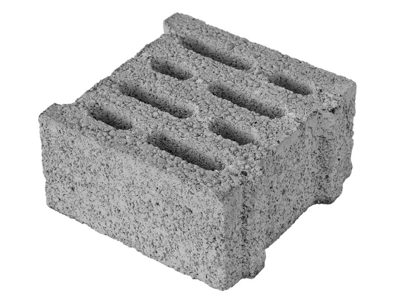 Loadbearing concrete block MINI 25 by M.v.b.